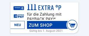 Zahlung mit Payback PAY 111 Punkte extra bekommen [Payback App / personalisiert?]