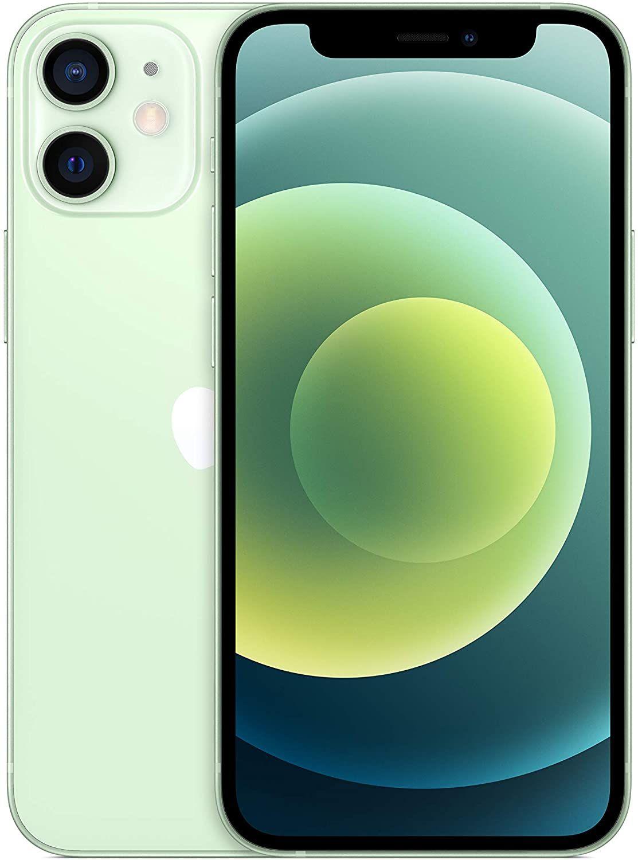 """Apple iPhone 12 Mini 128GB (5,4"""" FHD+ OLED, 5G, 4GB, A14 Chip, 523K AnTuTu) in Grün oder Weiß"""