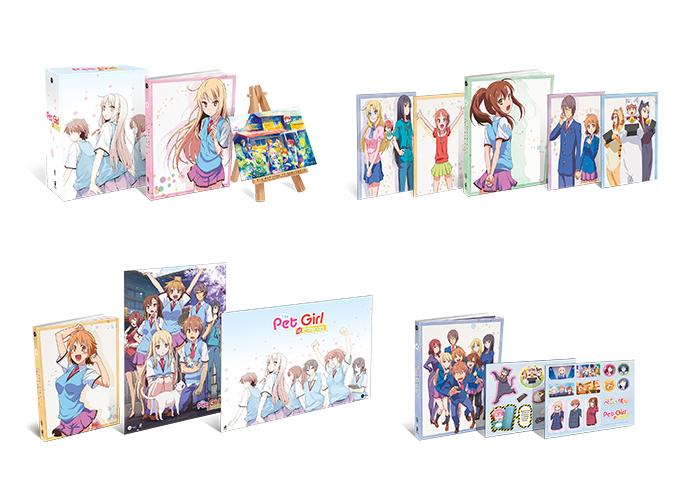 Pet Girl of Sakurasou - Staffel 1 - Komplett-Bundle (Vol. 1-4)