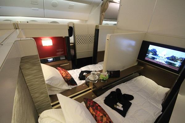 Frankfurt/München Business-Class Flüge nach Abu Dhabi, Seychellen, Malediven, Phuket - Partner-Special (also min. 2 Tickets)