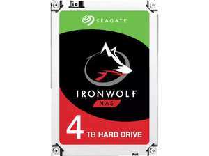 Seagate Ironwolf, 4TB HDD, Retail, CMR