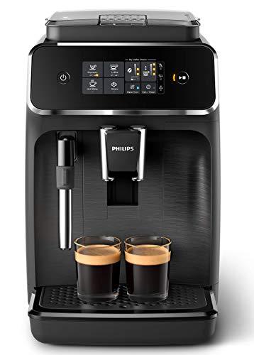Philips 2200 Serie EP2220/10 Kaffeevollautomat (1,8l Tank, Milchaufschäumer, AquaClean; 2-Tassen-Funktion)