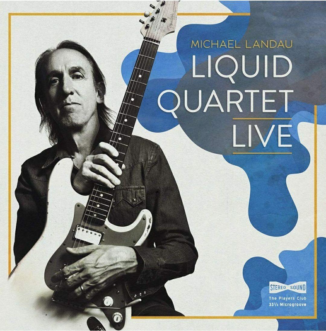 (Prime) Michael Landau - Liquid Quartet Live (Doppel Vinyl LP)