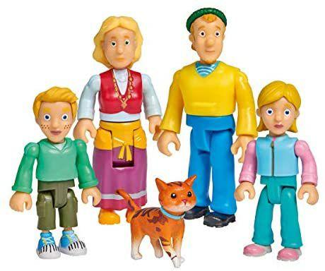 Simba Feuerwehrmann Sam Familie Jones Figurenset, 5 Stück   Familie Flood 9€ [Amazon Prime]