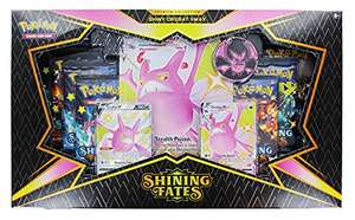 [Amazon Prime] Shining Fates: Premium Collection Shiny Crobat VMAX / Shiny Dragapult VMAX (eine nach Zufallsprinzip)
