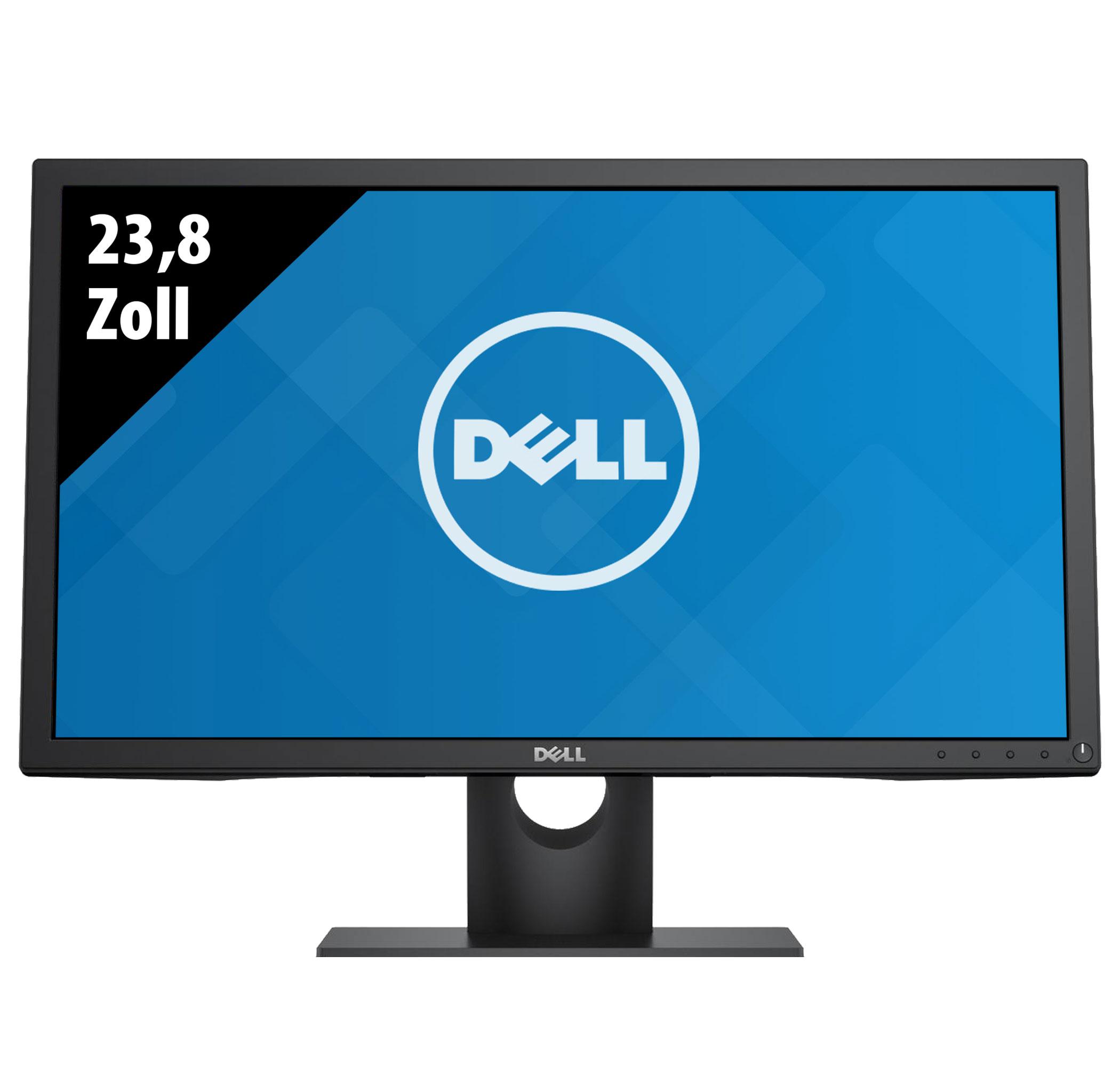 """[gebraucht] Dell P2417H Monitor (23.8"""", FHD, IPS, 250cd/m², 60Hz, 99% sRGB, HDMI, DisplayPort, VGA, 4x USB, Pivot, VESA, 1J Garantie)"""