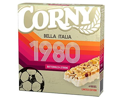 Amazon Prime: 10 x 6 Riegel (je15Cent)Corny Fußball Edition Bella Italia 1980