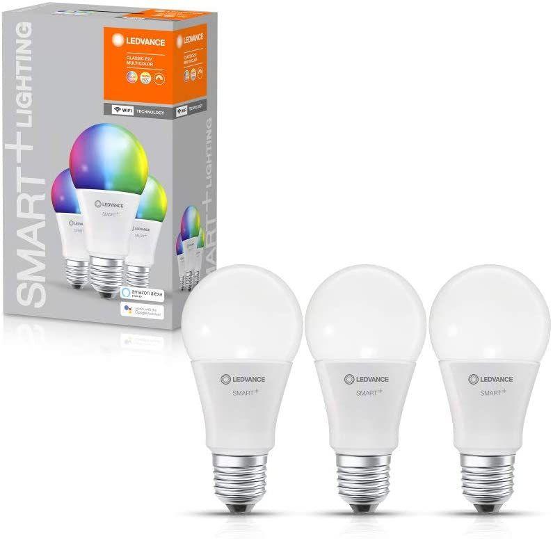 Amazon Prime, Kaufland, LEDVANCE Smarte LED-Lampe mit WiFi Technologie, Sockel E14