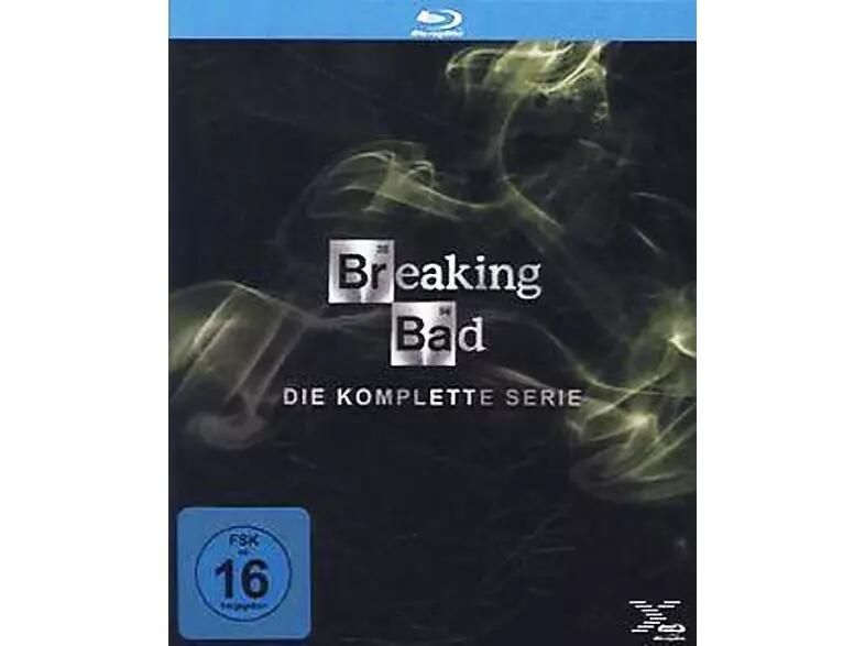 Breaking Bad- komplette Serie auf Blu-Ray (Saturn)