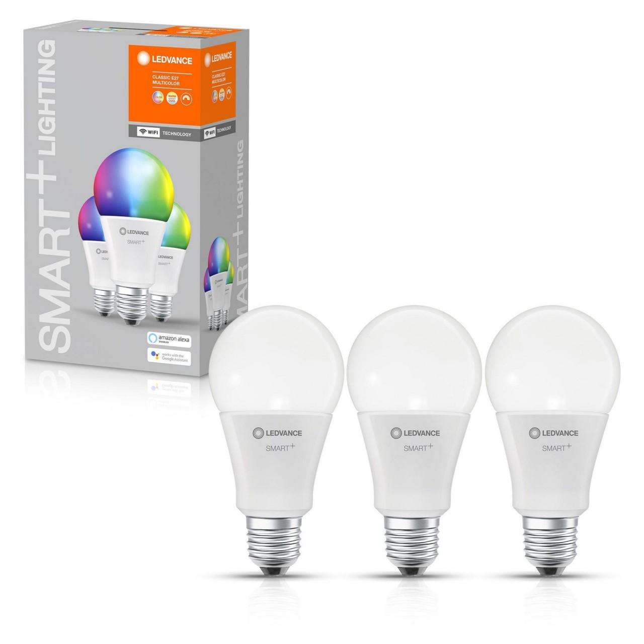 LEDVANCE SMART+ LED RGB A100 BOX 3er Set