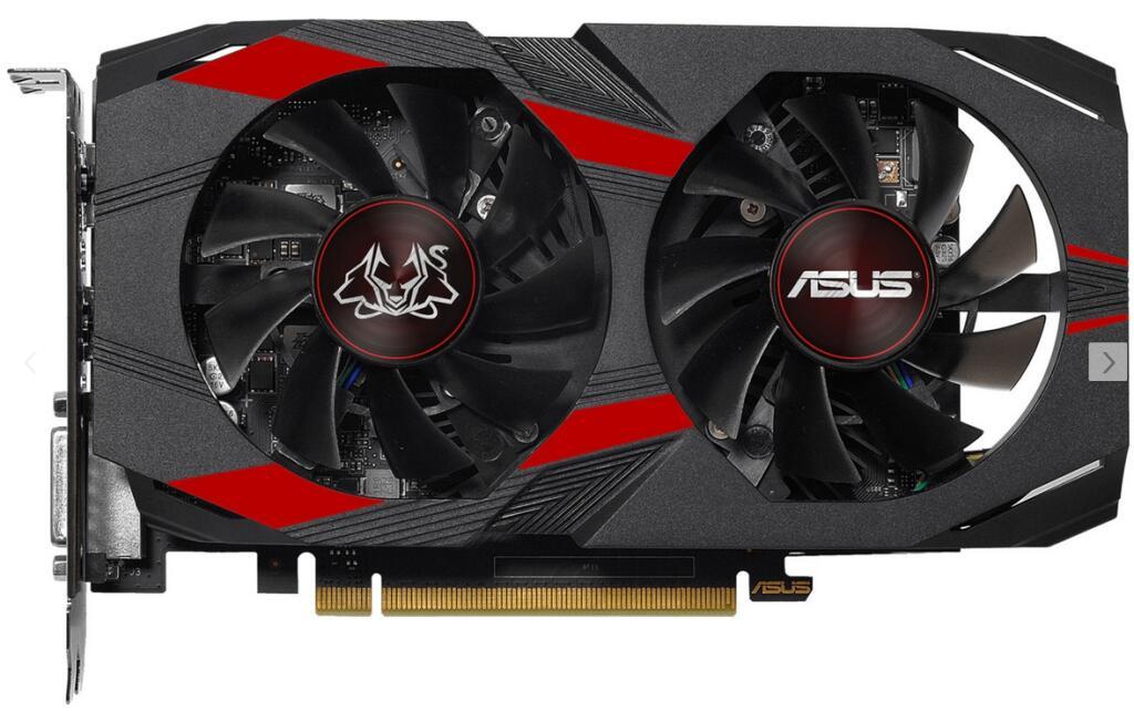 [Saturn] ASUS GeForce GTX 1050 Ti Cerberus Advanced 4GB (90YV0A75-M0NA00)