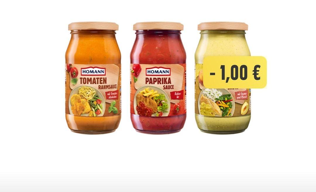 [Edeka Genuss+ App] verschiedene Homann Saucen für 0,49€