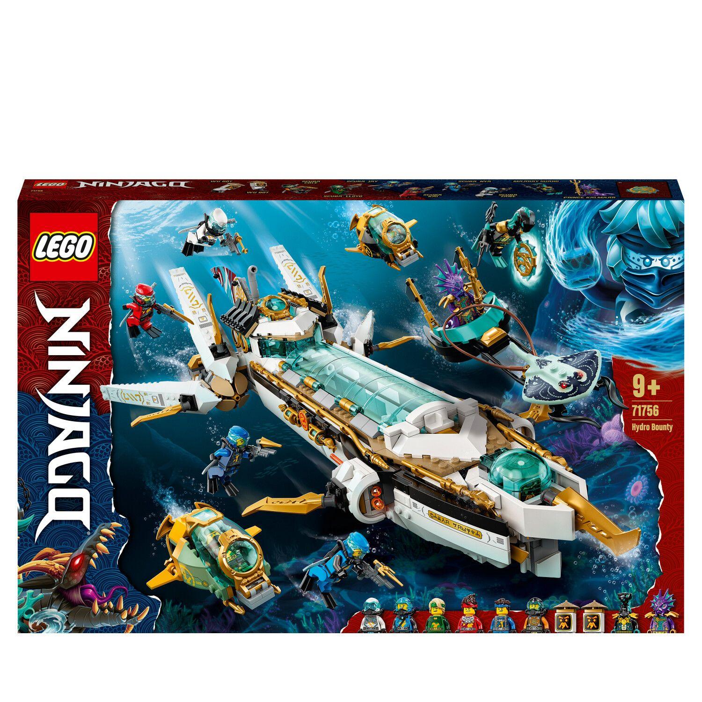LEGO Ninjago 71756 Wassersegler Bausatz, Mehrfarbig [Saturn + Direktabzug + Newsletter]
