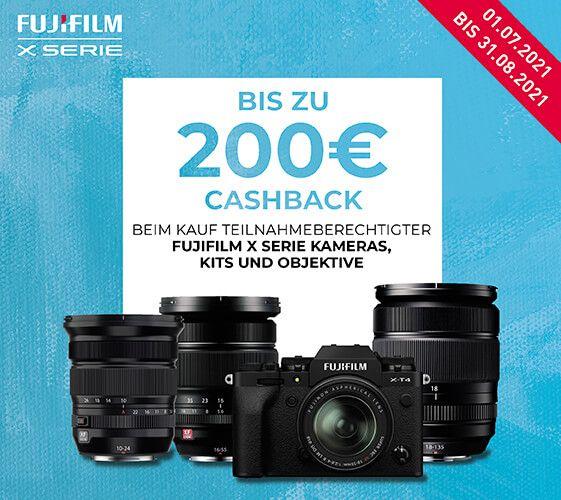 Fujifilm Fujinon Cashbackaktion - z.B. XF 18-135mm F3,5-5,6 Objektiv exkl. 150€ Cashback = 478,44€ inkl. Cashback