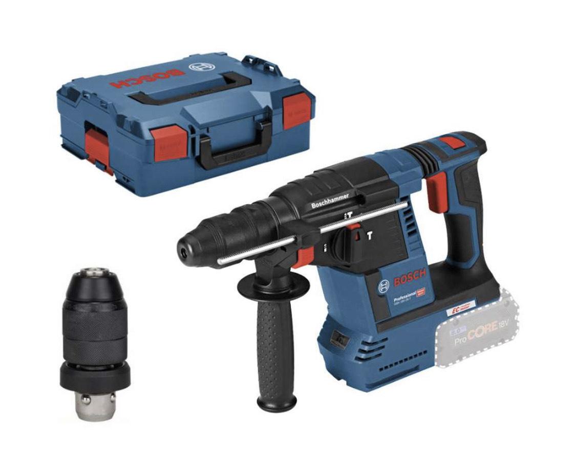Bosch GBH 18V-26F, Solo, in L-BOXX + gratis Handwerkzeug