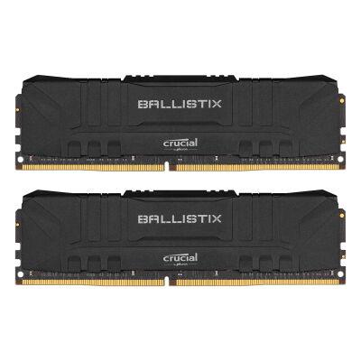 Crucial Ballistix DIMM Kit 16GB, DDR4-3000, CL15-16-16-35 (BL2K8G30C15U4B)