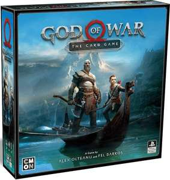 God of War- Das Kartenspiel (Kooperatives Brettspiel)