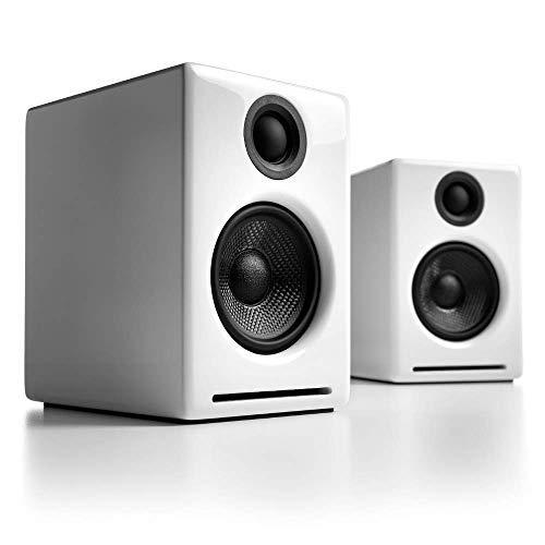 Audioengine A2+ 60W Aktiver Desktop-Lautsprecher in weiß