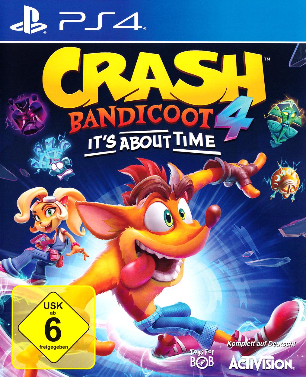 Crash Bandicoot 4: It's About Time (PS4/Xbox One) für 29,95€ (Ebay)