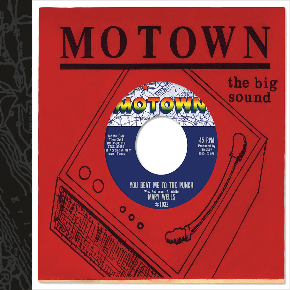 """Complete Motown Singles 1962 - Box mit 4 CDs und Vinyl 7"""" (4,95 € VSK, ab 80 € VSK frei)"""