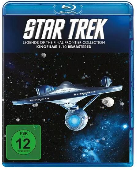 Star Trek 1 - 10: Remastered Collection (10x Blu-ray) für 30,79€ inkl. Versand (Saturn)