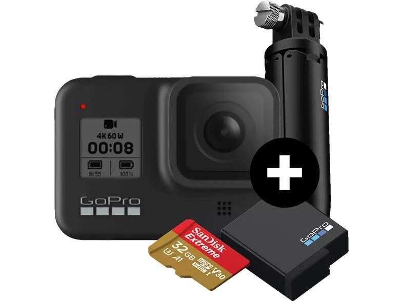 GOPRO HERO8 Black Holiday Bundle Action Cam 4k für 296,99 €