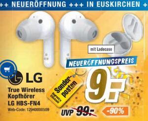 [Expert Filiale Euskirchen] LG HBS-FN4 True Wireless Kopfhörer Eröffnungsangebot für 9,00 €