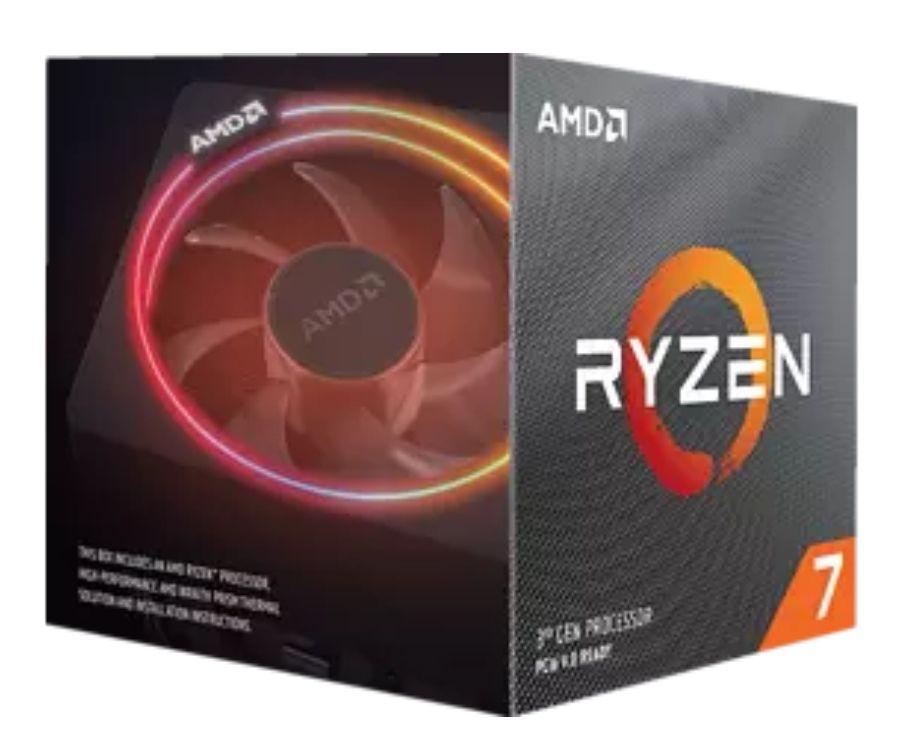 AMD Ryzen™ 7 3700X (100-100000071BOX) mit Wraith Prism Kühler Prozessor, Mehrfarbig