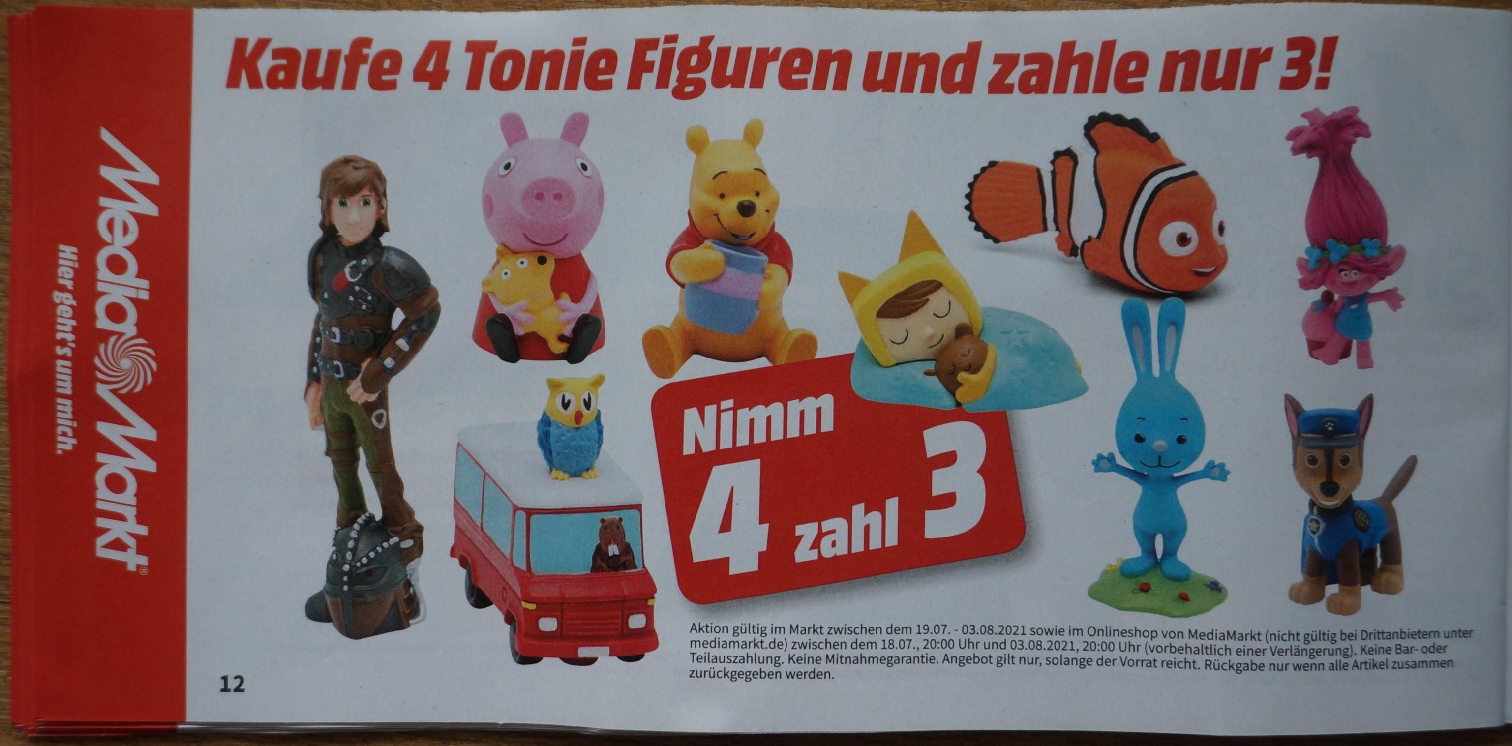 [Media Markt] Gutscheinheft: Konsole / Games / Tonies (4 Tonie Kaufen, 3 Zahlen) gültig 18.07.-03.08.2021