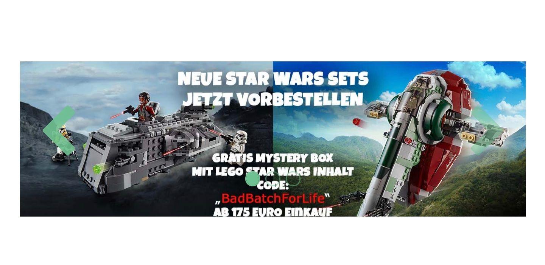 JB Spielwaren Lego Star Wars GWP ab 175€ MBW, Gratisbeigabe im Wert von 30€