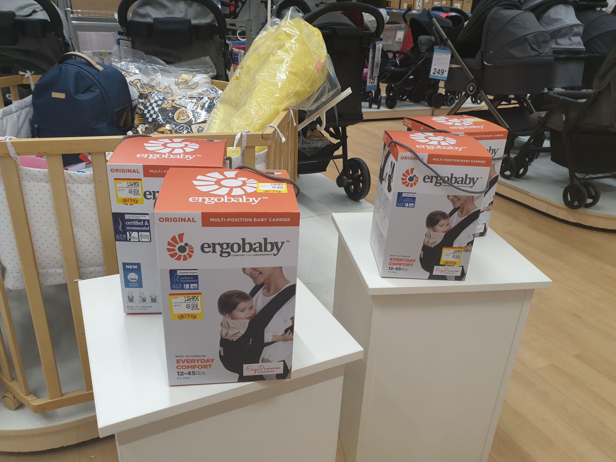 [Lokal Göttingen] Ergobaby Babytrage bei SmythToys