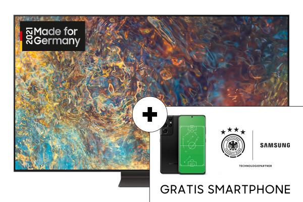"[Sammeldeal] Samsung GQ65QN95: Top-Modell (auch 55""/75"") zzgl. Galaxy S21 5G über Samsung-Aktion"