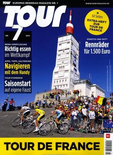 Tour Abo (12 Ausgaben) für 60 € mit 50 € Verrechnungsscheck