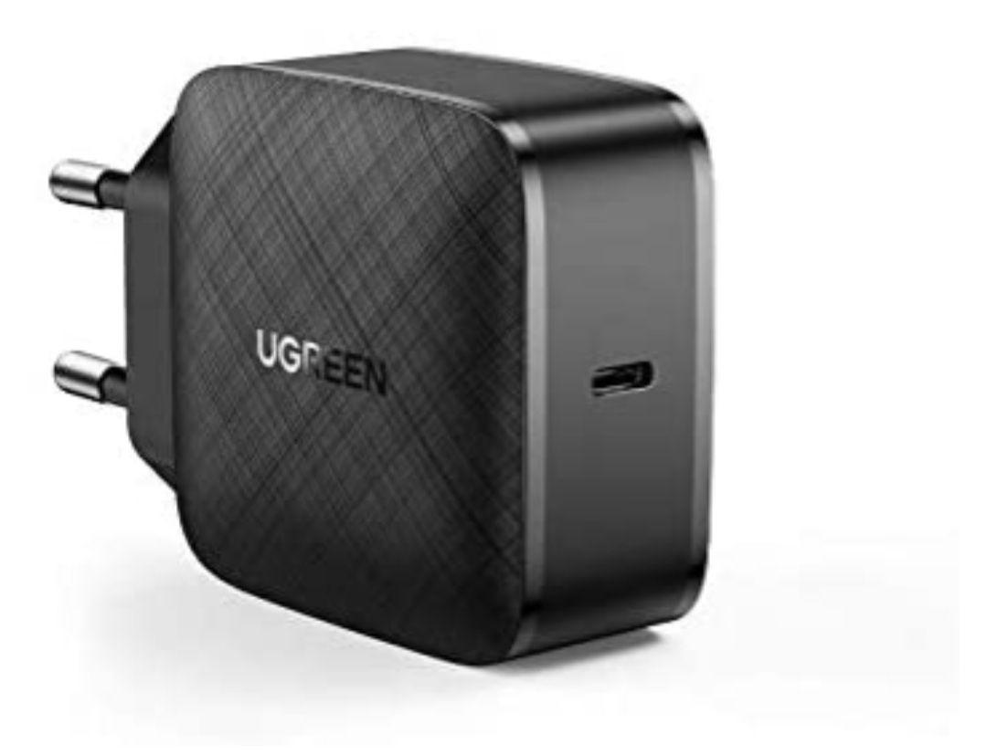 [Amazon Prime Blitzangebot] Kompaktes UGREEN 65W USB C Ladegerät USB C Netzteil, Adapter mit GaN Tech, PPS, QC 4.0 und PD 3.0