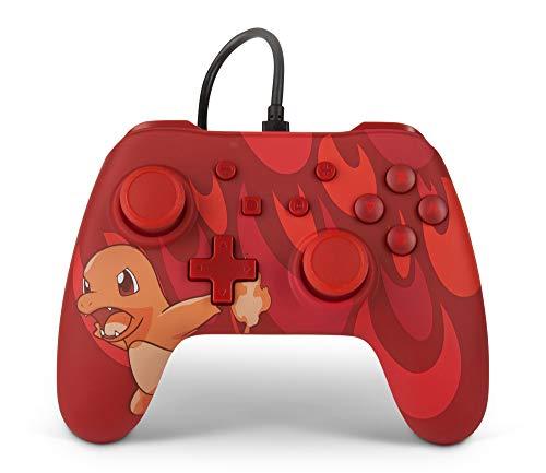 (Prime) PowerA Kabelgebundener Pokémon-Controller für Nintendo Switch: Glumanda oder Bisasam bei Amazon / Saturn