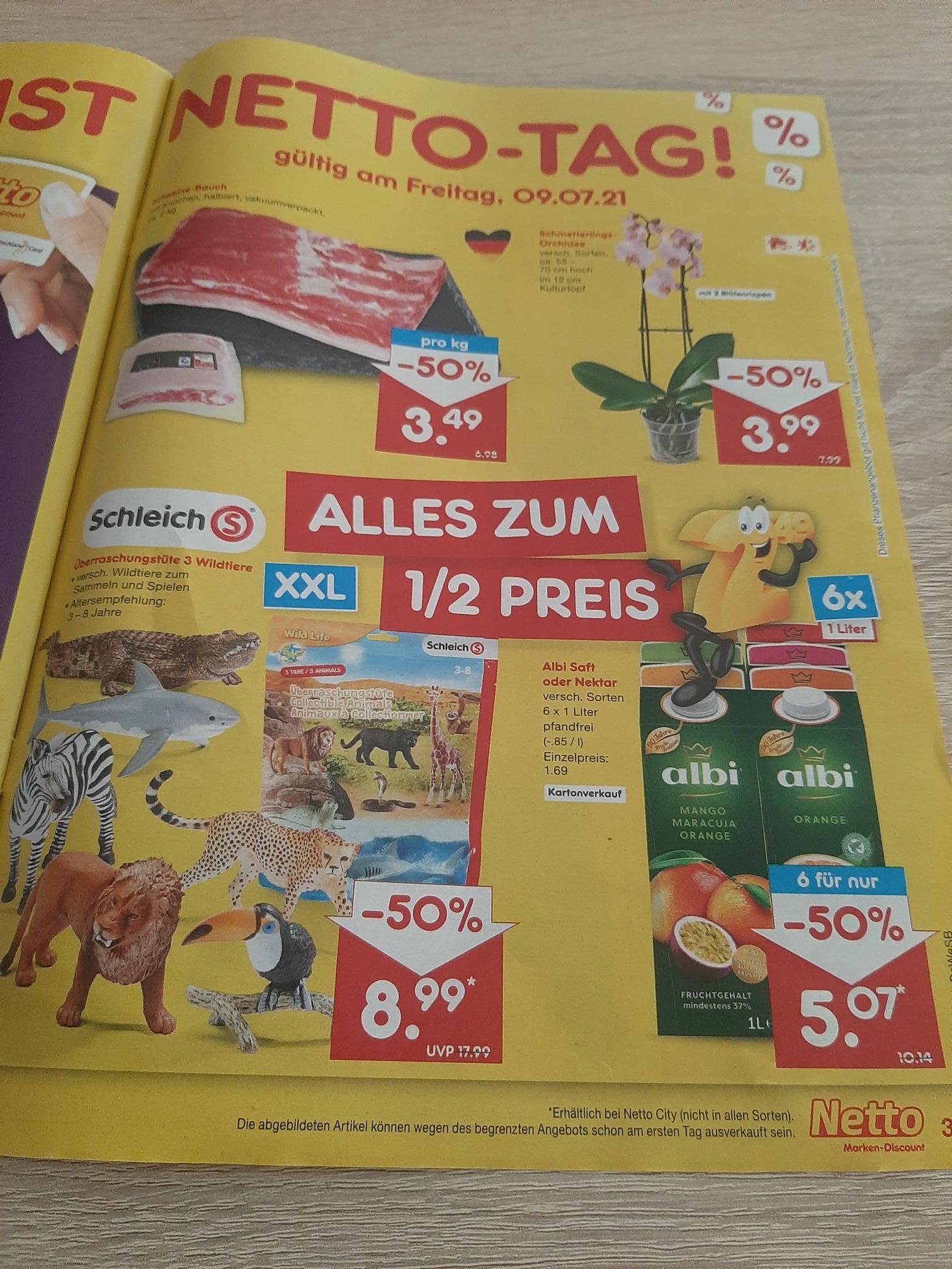 Netto Markendiscount:SchleichS Überraschungstüte statt 17.99€ nur 8.99€ Wild Life Edition.