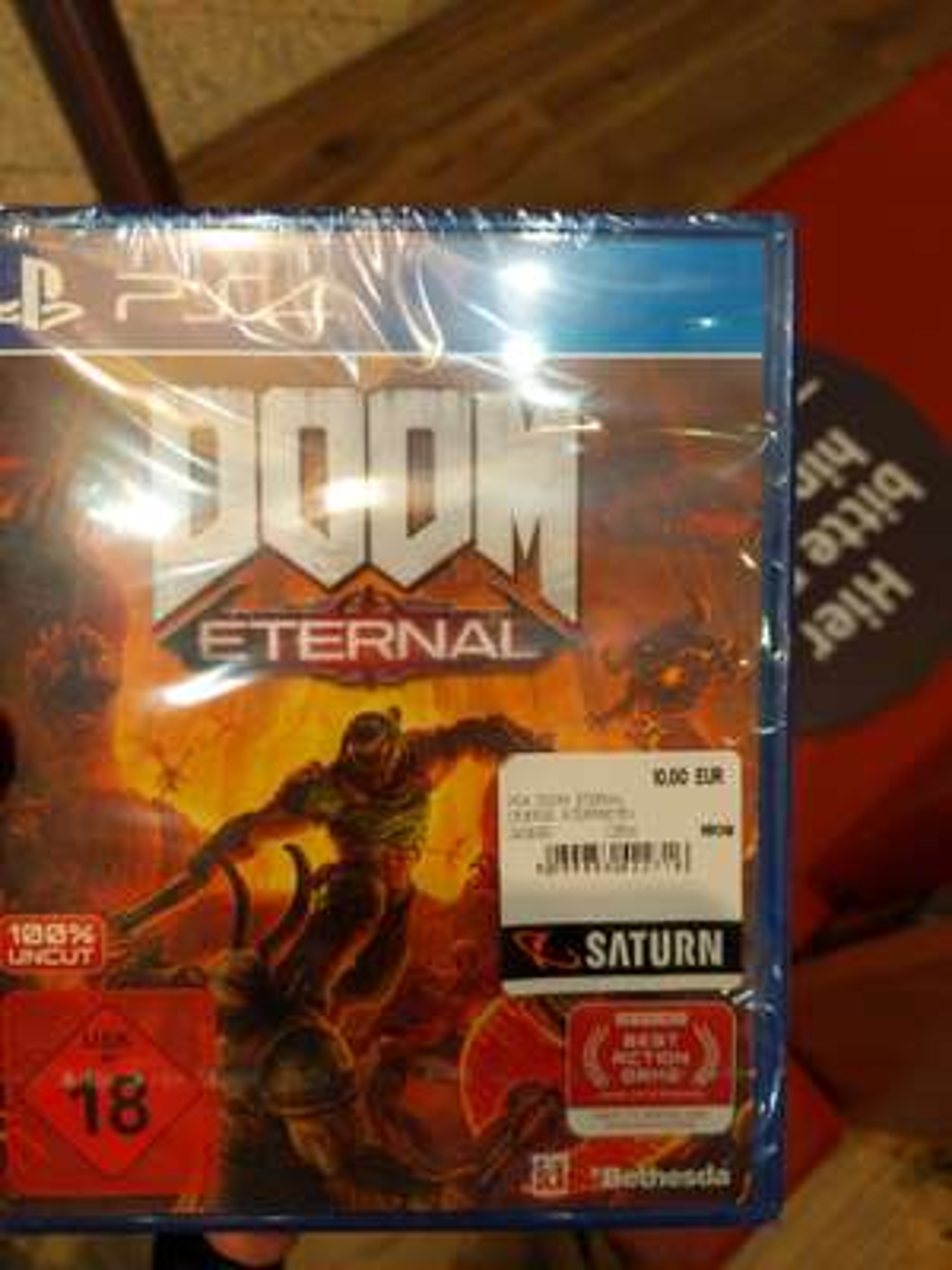 Lokal München PEP Doom Eternal PS4