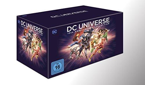 Amazon: DCU 10th Anniversary Collection (19 Discs) [Blu-ray] 10th Anniversary Collection für 59,97€ (oder Saturn für 55,99€ ab Ende Juli)
