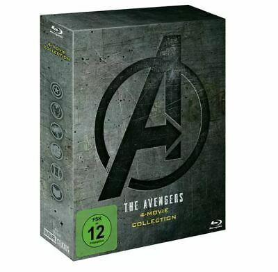 """Saturn: """"The Avengers"""" 4-Movie Collection (Blu-ray) für 19,59€ (oder Lieferung +2,99€)"""