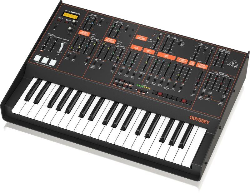 Behringer Odyssey, duophoner Analogsynthesizer, ARP Odyssey Klon [Musikinstrumente]