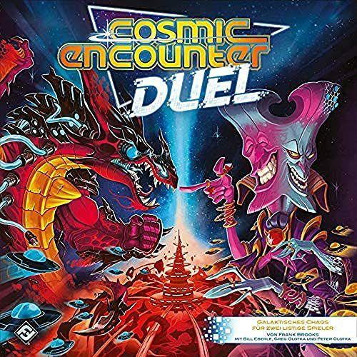 Asmodee Fantasy Flight Games FFGD0172 Cosmic Encounter Duel, Kenner-Spiel, für 2 Spieler ab 14 Jahren [Amazon Prime]