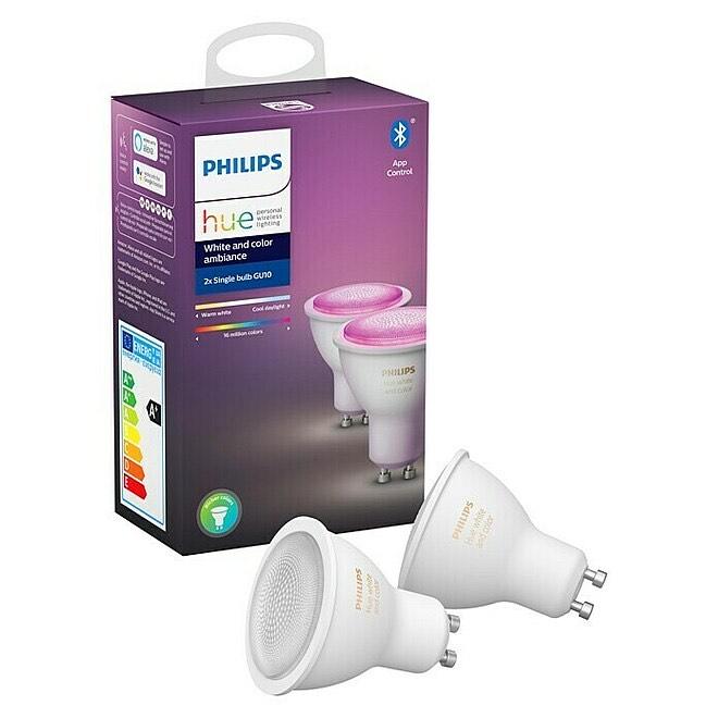 [Bauhaus TPG] Philips Hue GU10 Set White & Color Ambiance