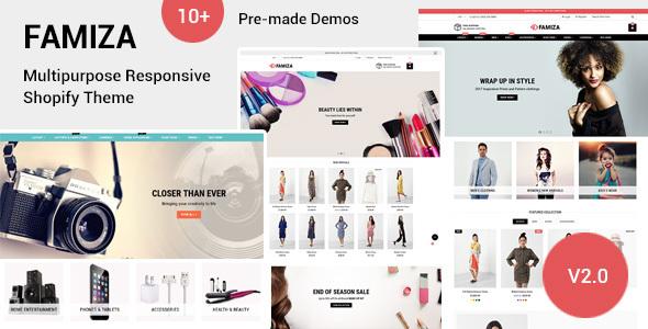 2 Wordpress- und 1 Shopify-Templates
