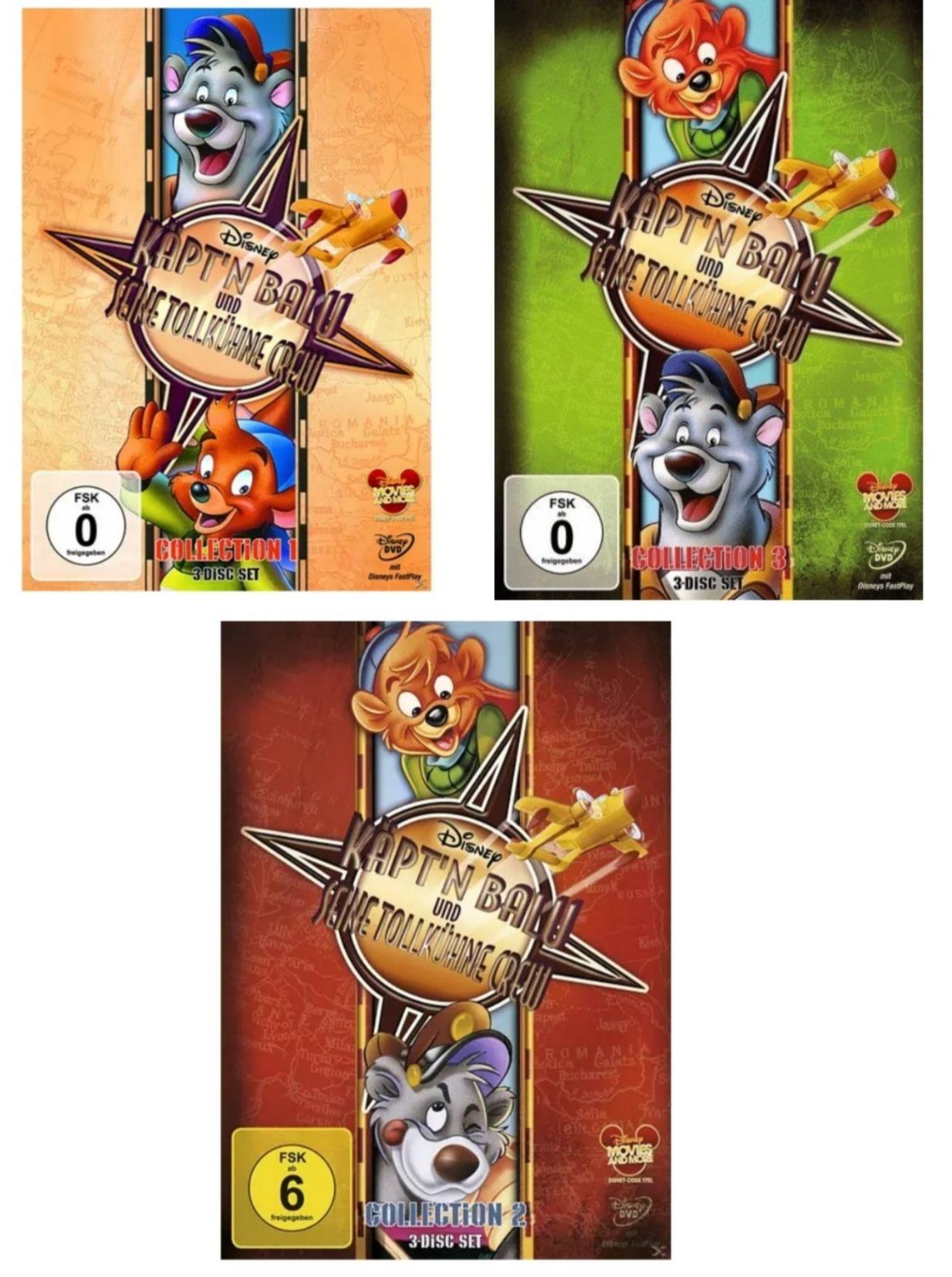 [Saturn Abholung] Käpt'n Balu und seine tollkühne Crew - Collection 1+2+3 DVD (9 DVDs)