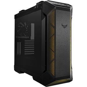 ASUS TUF Gaming GT501 schwarz, Glasfenster