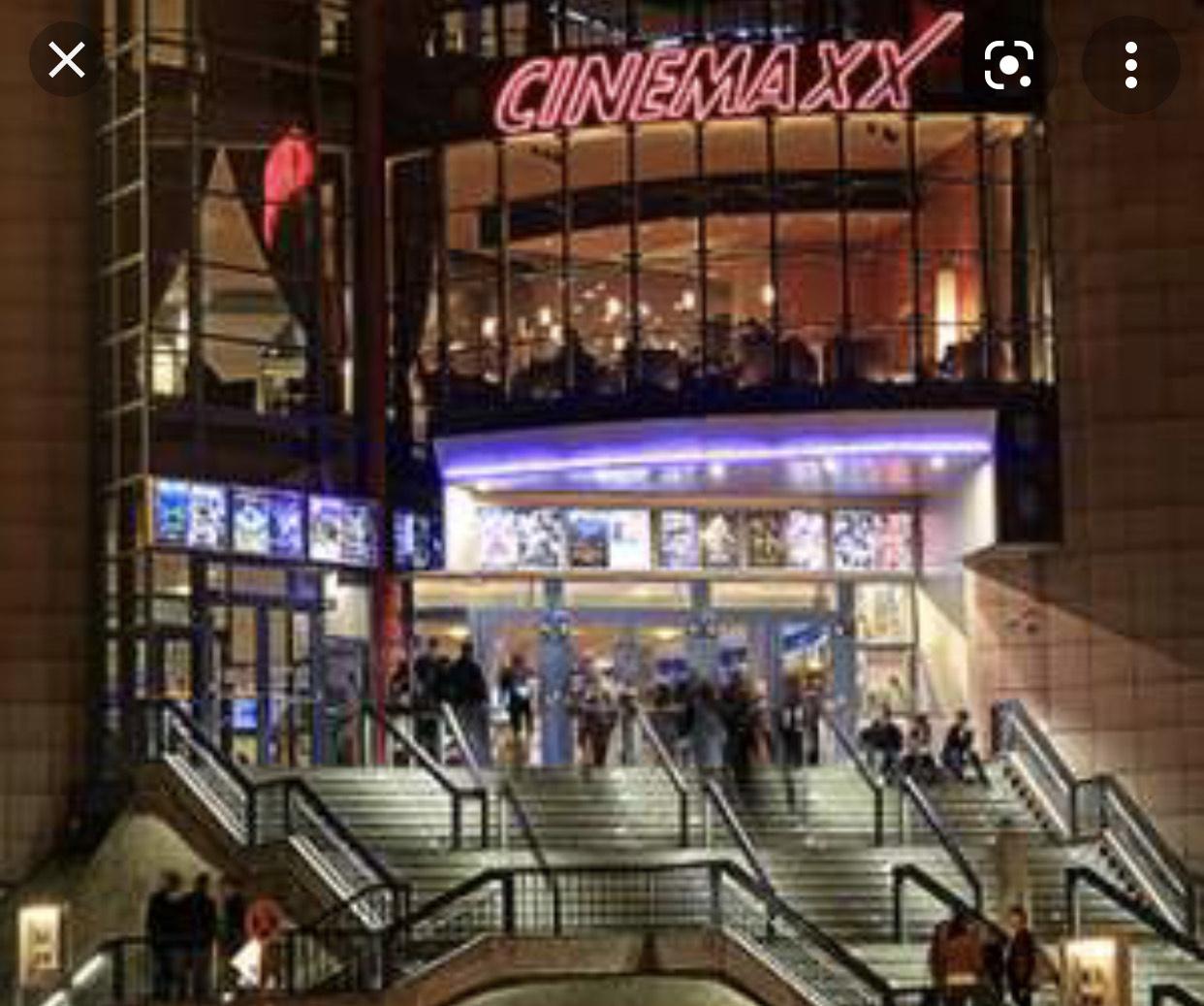 Cinemaxx Kino 5,99€ egal welcher Tag und Sitzplatz Lokal und Online (+0,50€) Essen