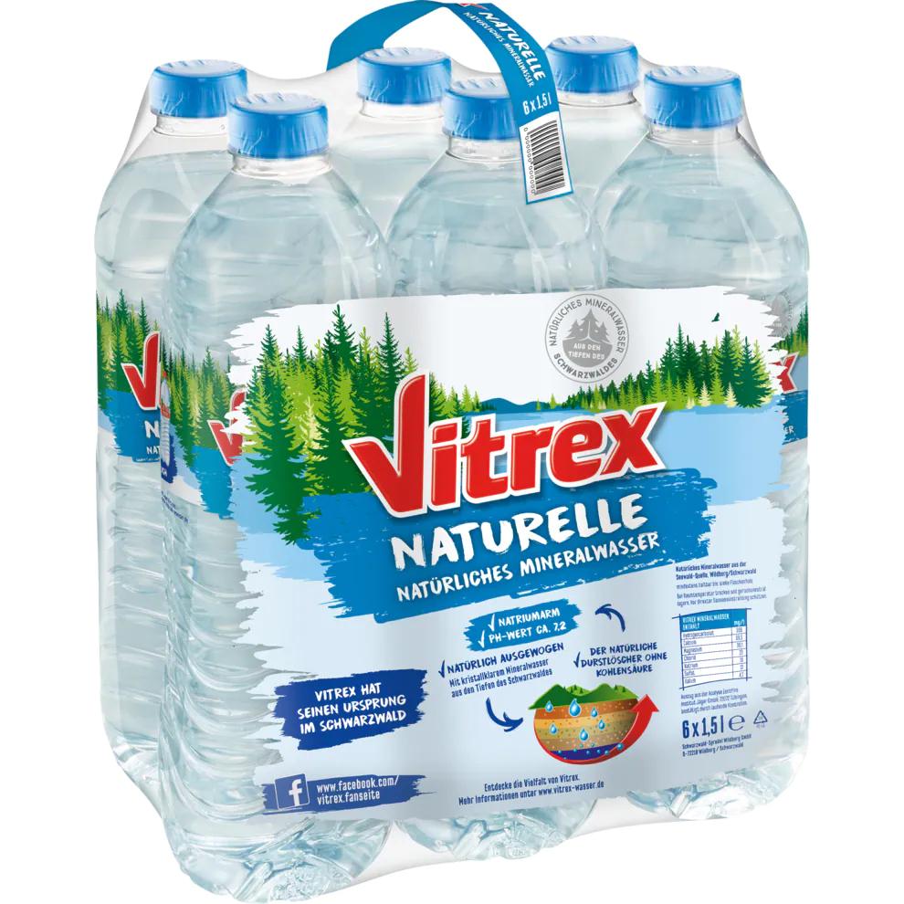 [Bringmeister] 10€ Rabatt bei 50€ Mbw, z.B. Vitrex naturelle Wasser 6x1,5 Liter im Angebot für 1,14€ statt 2,94€