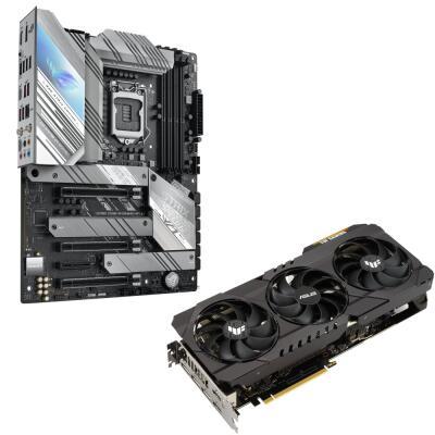 Asus TUF RTX 3070 Ti + Z590 A Gaming Mainboard