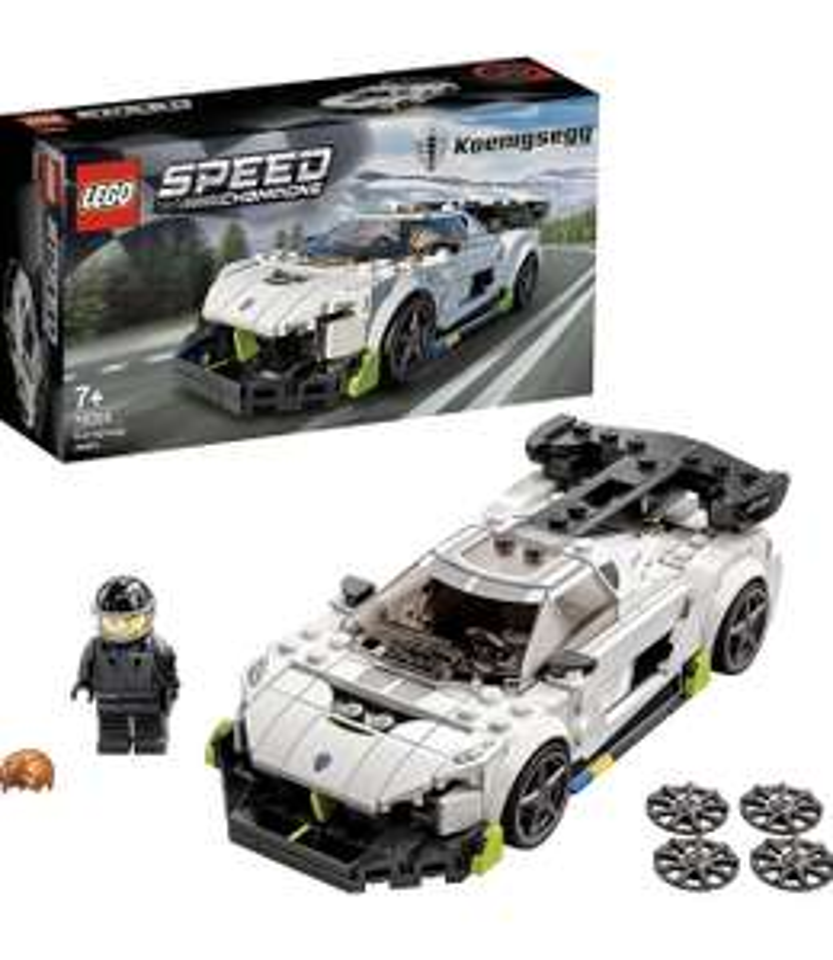 [Amazon Prime] Lego Speed Champions Koenigsegg Jesko und McLaren Elva