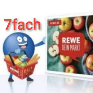 4x 7-fach Payback REWE Coupons